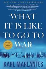 What It Is Like to Go to War by Karl Marlantes (2012, Paperback)