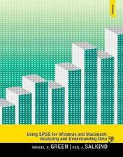 Using SPSS for Windows and Macintosh by Neil J. Salkind, Samuel B. Green (Paperb