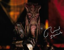 Photo - Richard Stride in person signed autograph - Poggle - Star Wars