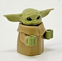 Limited Edition Custom LEGO Star Wars ✨BABY YODA a.k.a. THE CHILD✨ Minifigure
