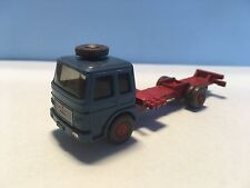 Wiking MAN Diesel Transport Truck Blue/Red 1/87 Scale Rare/Selten