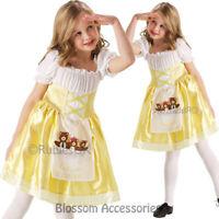 CK848 Girls Goldilocks Three Bears Fancy Dress Story Book Week Fairytale Costume