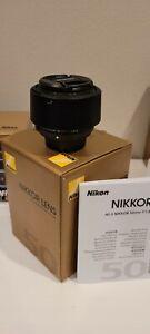 Nikon NIKKOR AF-S 50mm F/1.8G Lens - Black (2199)