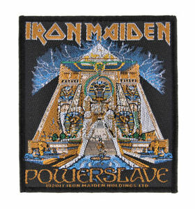 IRON MAIDEN - Powerslave - Official Woven Patch
