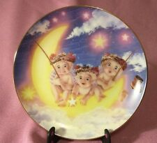 "Hamilton Collection Dreamsicle Plate ""By the Light of the Moon"" 1994"