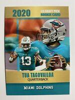 2020 Tua Tagovailoa NFL College Commemorative Rookie Card Rookie Phenoms Limited