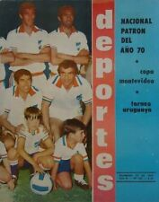 NACIONAL de MONTEVIDEO Champion 1970 RARE Magazine URUGUAY