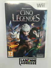 WII JEU VIDEO LES CINQ LEGENDES - COMPLET - NINTENDO - MULTI-LANGUES