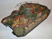 Modelik 17/09 - Russ. Panzer T-28   1:25  mit Lasercutteilen