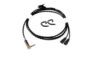 HIFI handcrafted earphone replace upgrade cable for Sennheiser IE8 8i IE80S IE80