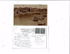 CORNISH POST CARD REAL PHOTO No.8388 AT ST. IVES