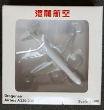 JC Wings 1/400 Scale Dragonair Airbus A320-232. B-HSG.