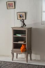 Bourdeilles Small Bookcase CD DVD Unit Cabinet Solid Shabby Chic In Mango