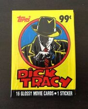 1990 Topps Dick Tracy (The Movie) - Wax Pack (Souvenir Magazine Variation)