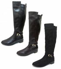 Spot On Zip Textile Boots for Women
