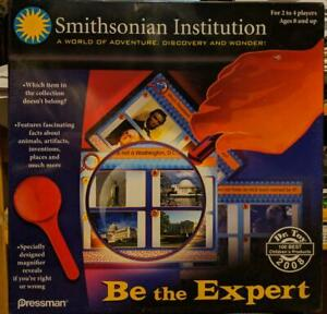 Smithsonian Institution Be the Expert Game - Toy NIB Educational Toy