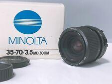 【TOP MINT in Box】Minolta New MD 35-70mm F/3.5 MF Lens From Japan 169.2