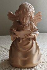 "Corazza Wood Carved Angel 4 1/2"" Merano Italy-"