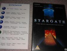 RARE EARLY PIONEER STARGATE PROMO DVD DISK MOVIE FILM