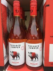 rotes Wildschwein 6x0,75l 2019 Rosé Tussock Jumper Grenache aus Frankreich