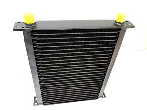 Cooling Pro Oil Cooler - 34 Row Hw Black (285x245 Core Size)