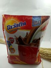 Thai 3 in 1 Ovaltine Chocolate Malt Plus Energy Drink 406 g.