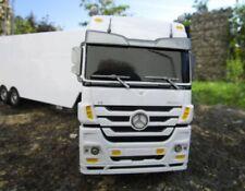 LKW Mercedes Actros 1:32 weiss 3 Kanal 27Mhz Jamara RC LKW Fernsteuerung 403640
