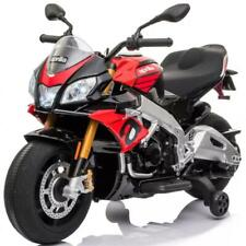 Aprilia Elektromotorrad für Kinder elektrisches Kindermotorrad Tuono V4 12V NEU