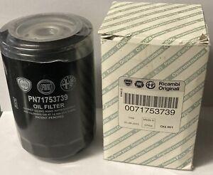 Genuine Fiat Ducato Oil Filter 71753739