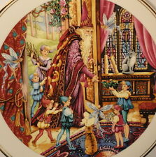 Spellbinder Welcome Home Royal Doulton Plate Fairies Pixies Cats Wizard Elfs