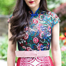 ANTHROPOLOGIE Tea Rose Sheath Kimono Dress from Byron Lars Beauty Mark — Wedding