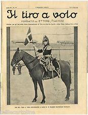 """RIVISTA """"IL TIRO A VOLO"""", ANNO IV, N. 17, MAG 1932, ONORANZE A F. BARACCA      m"""