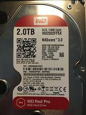 WD RED Pro WD2002FFSX 2TB NASware 3.0