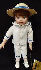 "Young Boy ""Patrick"" Porcelain Doll by Seymour Mann - 15"" Tall  NM-MT- LMT."