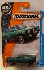 Matchbox Blue 1990 Volkswagen Golf Country