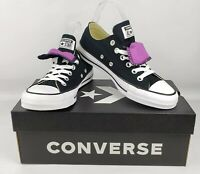 Converse Women's Black All Star Low Top Canvas Sneaker/Shoes~NEW~Sz 7