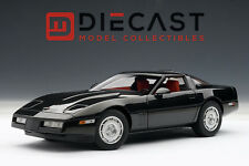 AUTOART 71242 CHEVROLET CORVETTE 1986 - BLACK 1:18TH SCALE