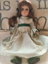 Antique Arranbee Debu'Teen Doll Composition 30's Auburn Long Hair 15""