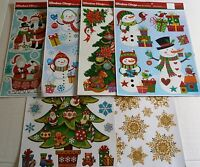 CHRISTMAS Window Cling Assortment  #2 {Your Choice}