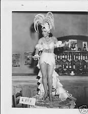 Armida leggy busty VINTAGE Photo dancing on table