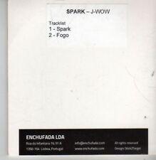 (BP826) Spark, J-Wow - DJ CD