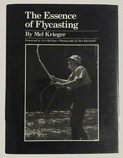The Essence of Flycasting Mel Krieger 1st edition