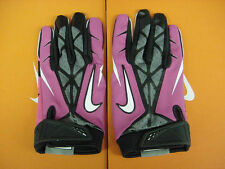 Nike Vapor Jet 2.0 Pink Breast Cancer Awareness NCAA Football Gloves Size: XL