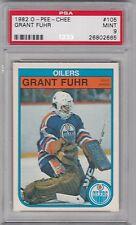 1982 O - Pee - Chee, Grant Fuhr, Edmonton Oilers, PSA 9, Mint