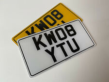 Pair 13x6.5 japanese import road legal Number Plates 100%MOT Compliant free post