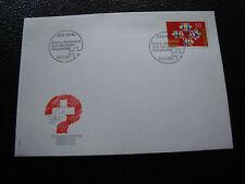 SUISSE - enveloppe 1er jour 20/11/1990 (cy51) switzerland