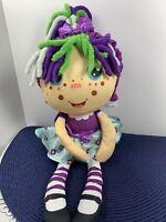 Flip Zee Girls Zara Happy Flower 2-in-1 Plush Doll by Jay at Play Soft -