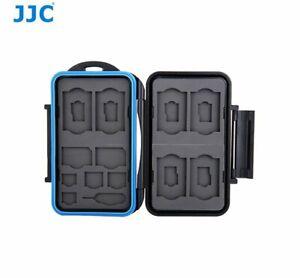 JJC MC-STM18 Memory Card case fits for 6 SD, 6 MSD, 2 SIM, 2 MSIM, 2 Nano SIM