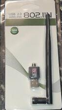 900 Mbps WiFi Dongle Adaptateur USB sans fil avec antenne pour PC portable F3 F5s v8S