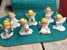 Vintage Morehead Christmas Angels - Set of 7